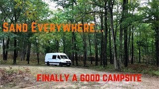 Boondock Camping in Michigan, Sprinter Van Adventures