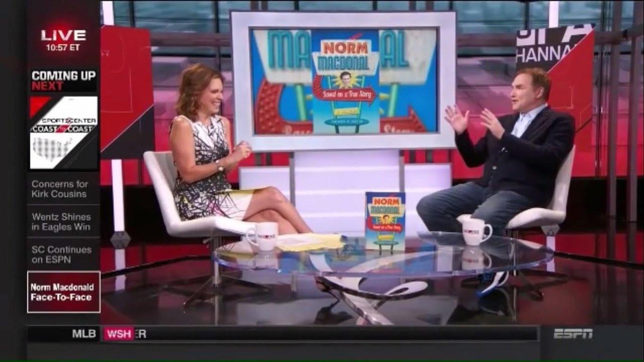 Download Norm Macdonald Flirting with ESPN Reporter