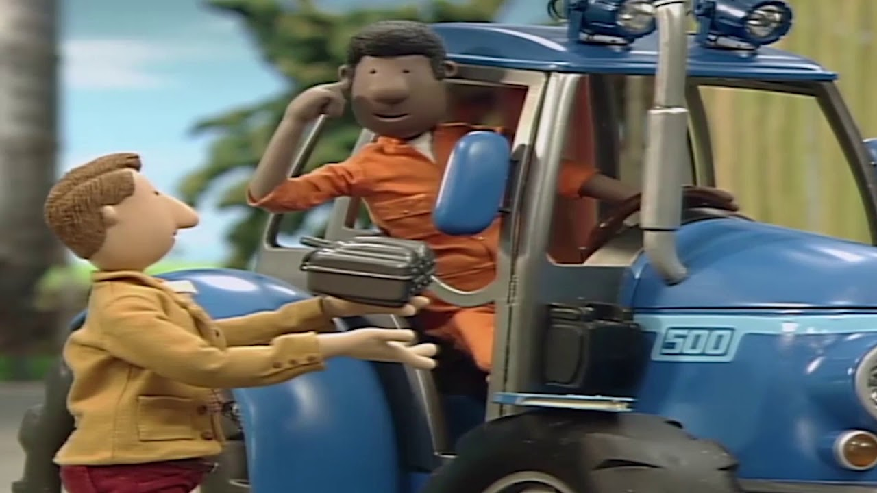 kleiner roter traktor  heu machen  kinderfilme  youtube