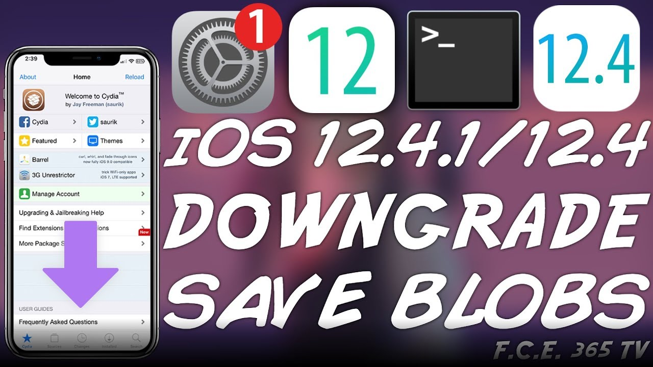 How To Save iOS 12 4 and 12 4 1 SHSH2 Blobs for iOS Downgrades & JAILBREAK  (Do It Now!)