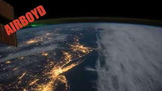Northeastern United States At Night ISS