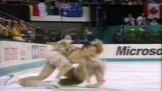Usova & Zhulin (CIS) - 1992 Worlds, Ice Dancing, Free Dance