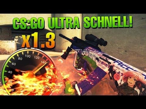 CS:GO Match ultra schnell! x1.3 Geschwindigkeit ¯\_(ツ)_/¯