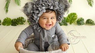 Cute baby dressed as Koala Bear for a photo shoot | Jiyaa Arora