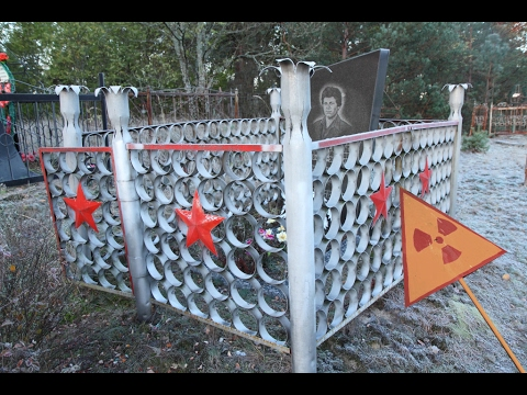 Graveyards of the Chernobyl Exclusion Zone