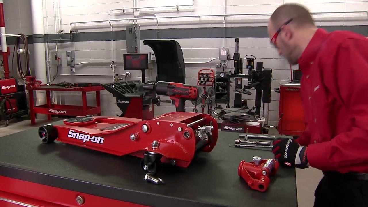 Snapon Floor Jack 3328 Rebuild and Repair  Snapon Tools