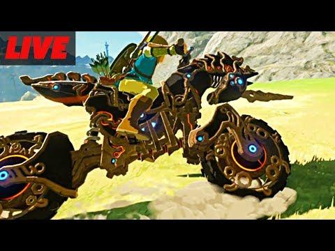 Zelda Breath of The Wild Champion Champions Ballad DLC Live