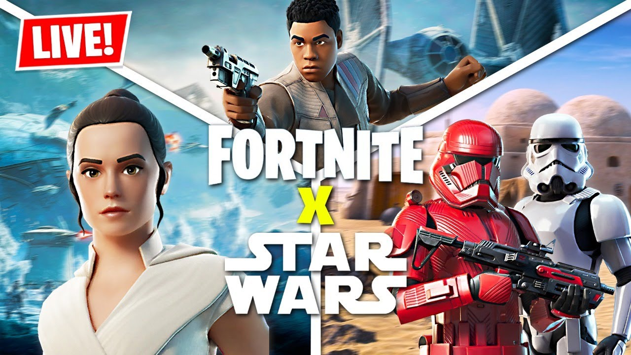 When And Where To Watch The 'Fortnite' Star Wars Live-Event Today