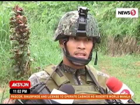 LEADER NG MAUTE NA SI ISNILON HAPILON BUMALIK NA ARMADO SA SYUDAD NG MARAWI!!