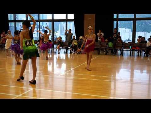 倫巴舞 9-10歲拉丁舞比賽