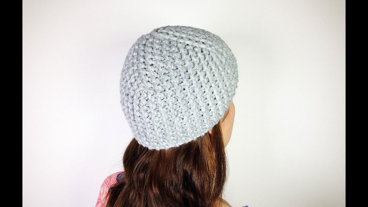 b5e46ff5b98 ... official store how to loom knit a basic cloche hat diy tutorial youtube  499ca 2cbae