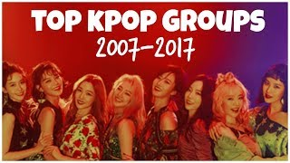 [TOP 43] TOP KPOP Groups Who Debuted in the Last Decade l 2007-2017