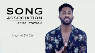 Jacobi sings Beyoncé, Jackson 5 and Drake in a Game of Song Association | Inspired by ELLE