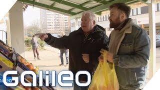 Der harte Job eines Lebensmittellieferanten | Galileo | ProSieben