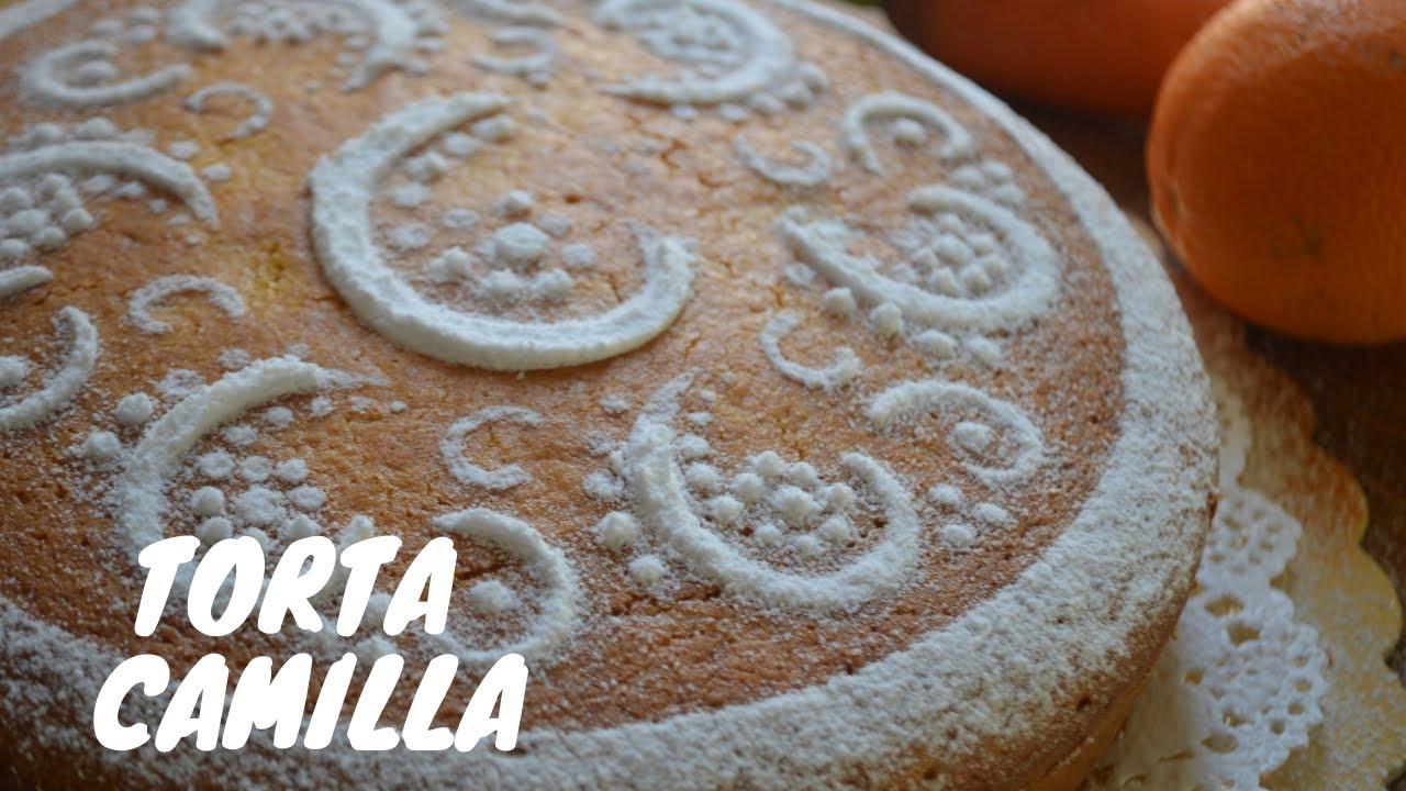 Torta Camilla con carote, arancia e mandorle