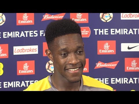 Danny Welbeck Full Pre-Match Press Conference - Arsenal v Chelsea - FA Cup Final