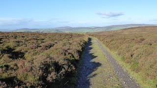 The Long Mynd Ratlinghope Country Walk Scenery - Shropshire Walks - Tour England Walking Holidays UK