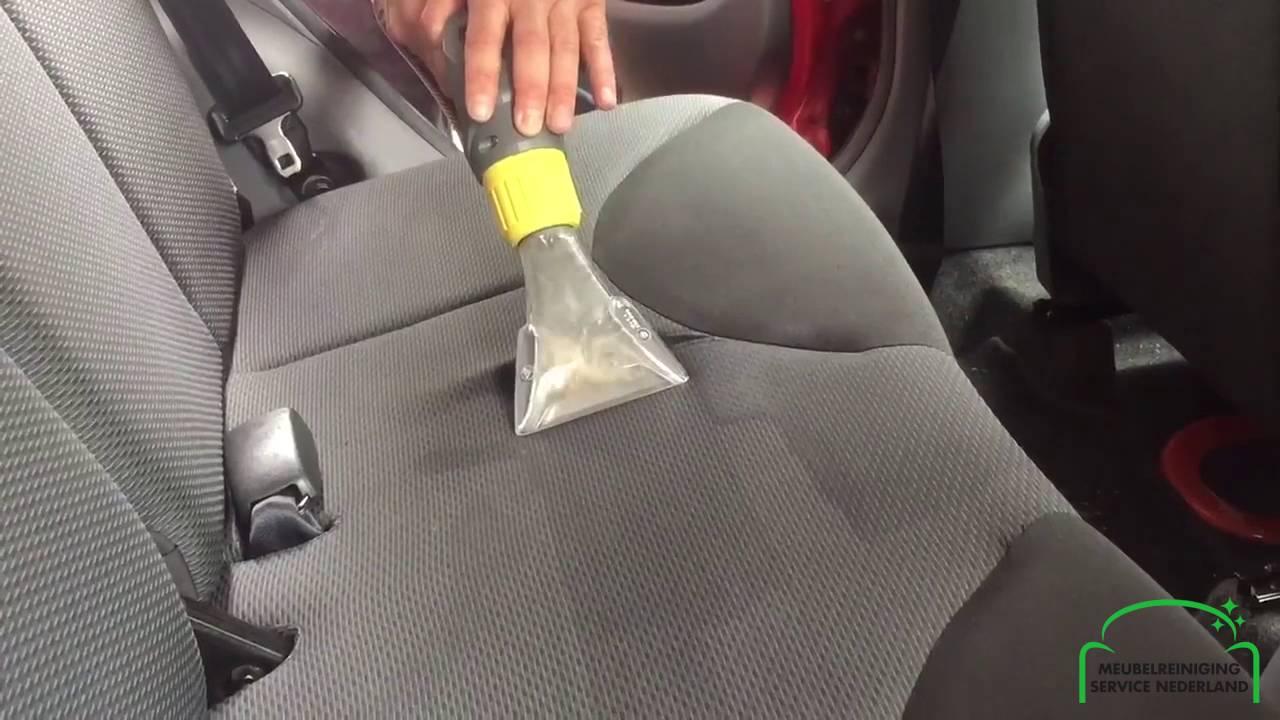 Autobekleding Reinigen - Meubelreiniging Service - YouTube