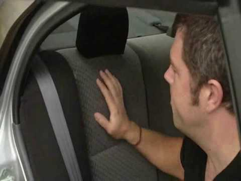Car Seat Cover Installation: Rear Seats - Part 1