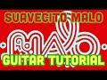 Suavecito guitar tutorial MALO
