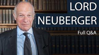 Lord David Neuberger | Full Q&A | Oxford Union