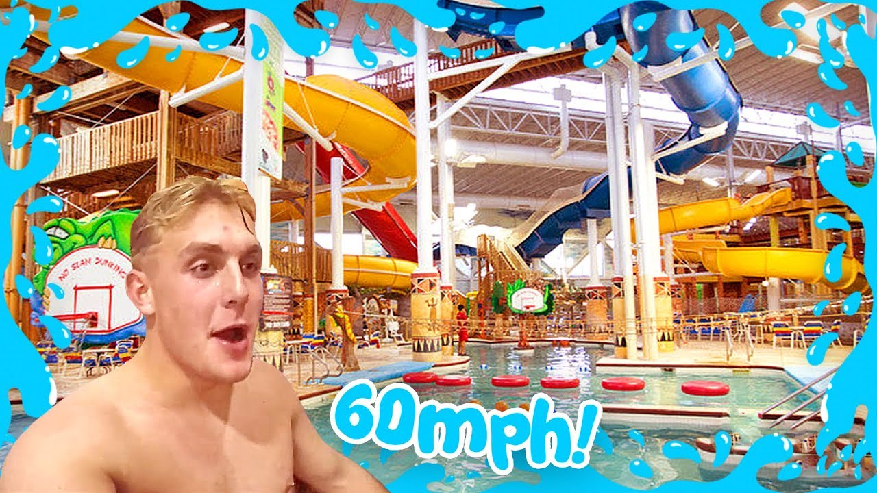 FASTEST WATER SLIDE IN THE WORLD {60+ MPH}