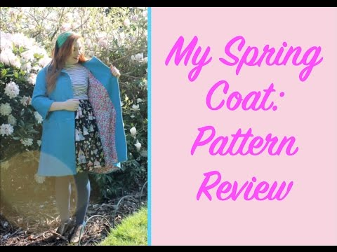 My Spring Coat: Simplicity 1197 Pattern Review