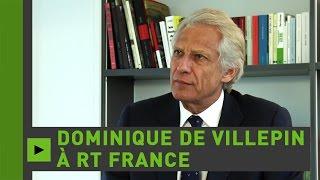 Dominique de Villepin : «L'Europe et la Russie ont des intérêts communs»