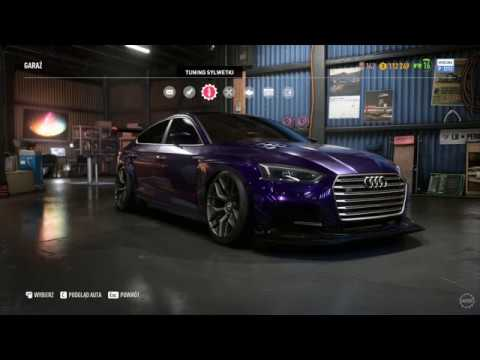 Need For Speed Payback - Audi S5 Sportback Customization