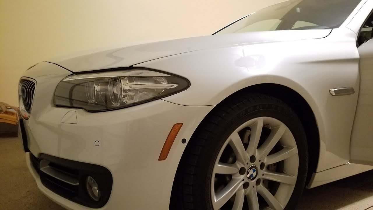 BMW 5 series F10 coding rear taillights as DRL