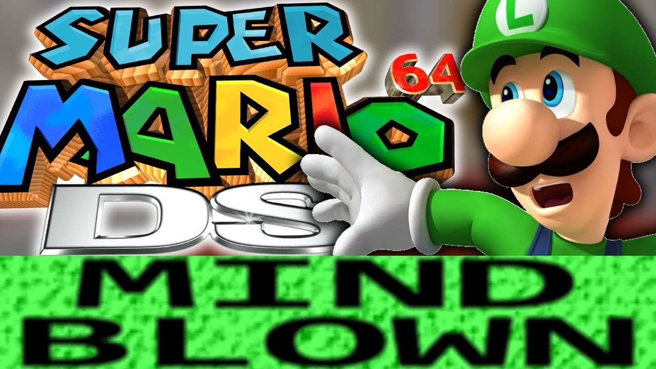 How Super Mario 64 DS is Mind Blowing!