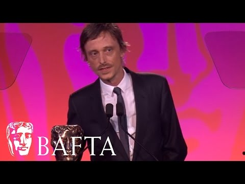 Mackenzie Crook  Writer Comedy Winner  BAFTA TV Craft Awards 2015