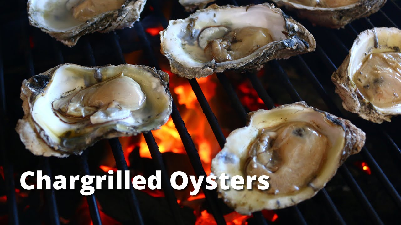 Chargrilled Oysters | Grilled Oyster Recipe on Big Green Egg