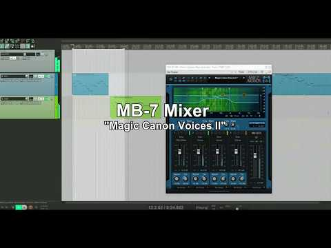 Blue Cat's MB 7 Mixer 3.1 Built-In Effects Demo