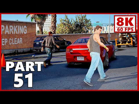 GTA 5 Gameplay Walkthrough Part 51 - Grand Theft Auto 5 The Ballad of Rocco (PC 8K 60FPS)