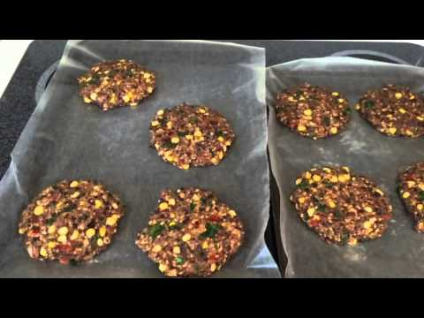 How to Make Spicy Black Bean Burgers