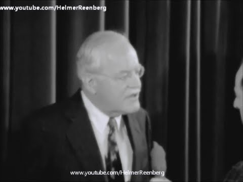March 20, 1964 -  Former CIA Director Allen Dulles interviewed at the Waldorf Astoria, New York