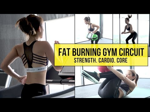 My Fat Burning Gym Circuit (Strength. Cardio. Core) | Joanna Soh