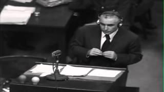 Munich No. 366: War Crimes Trials, Nuremberg, Germany, 08/12/1946