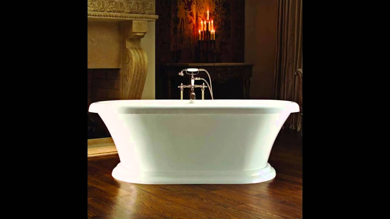 Free Standing Jetted Hot Tub Whirlpool Bathtubs Jacuzzi ...