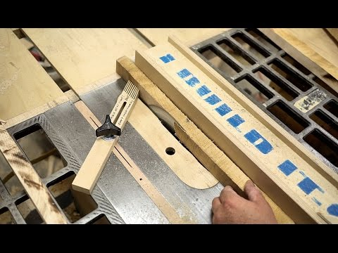 Milling Rough Lumber Flat And Square Without A Jointer