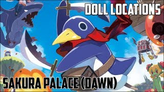 Prinny 2: Dawn of Operation Panties, Dood!   Sakura Palace (Dawn)   Doll Locations