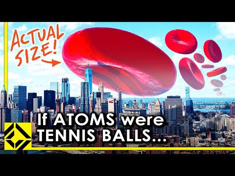 VFX Artist Reveals The True Scale Of Atoms