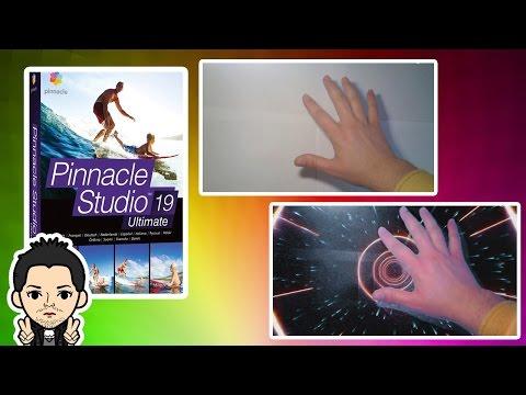 Pinnacle Studio 16,17,18,19  Изменить Задний Фон Без Хромакея и Зеленого и Синего Цвета