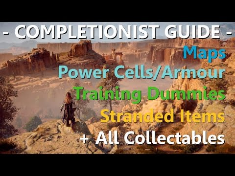 Horizon Zero Dawn Completionist Guide