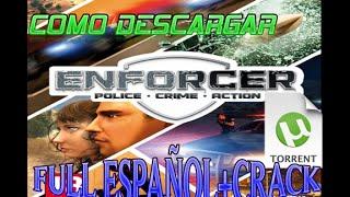 Enforcer Police Crime Action descargar (utorrent) español 2017