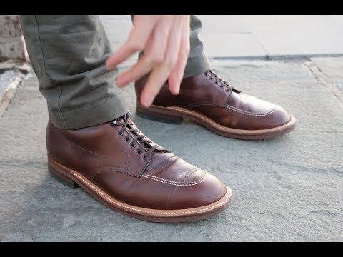 849118d6e2 Alden Indy Boot Review  Worthy of Indiana Jones  - YouTube