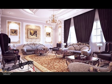 3D Max Classic Interior Modeling, Rendering, Vray 3.4, 3dsmax 2016 #001