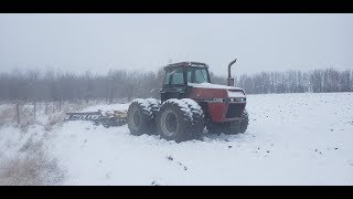 Winter is here!!!.....John Deere 3710 Plow