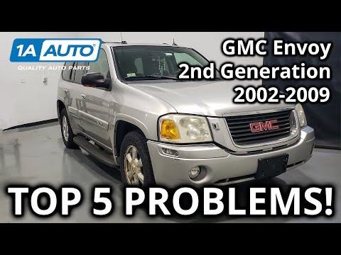 top 5 problems gmc envoy suv 2nd generation 2002 2009 youtube top 5 problems gmc envoy suv 2nd